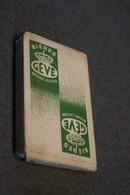 RARE Très Ancien Jeux De Carte Bière Gévé ,Braine L'Alleud,32 Cartes ,complet Pour Collection - Cartes