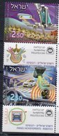 ISRAEL, 2018, MNH, ROBOTICS INDUSTRY, MEDICINE, SPINAL SURGERY, VEHICLES, CARS, COLLISION AVOIDANCE SYSTEM, 2v+TABS - Usines & Industries
