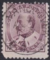 Canada  .  Scott     .     93           .      O    .  Cancelled  .   /    .  Gebruikt - 1903-1908 Regering Van Edward VII