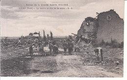 Locre (1914-1918) - La Remise En état De La Route - Heuvelland