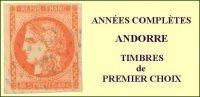 Andorre, Année Complète 1982, N° 300 à N° 309** Y Et T - Años Completos