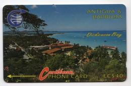 ANTIGUA Et BARBUDA REF MV CARDS ANT-3CC Année 1991 DICKENSON BAY - Antigua En Barbuda