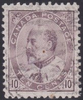 Canada  .  Scott     .     93i           .      O    .  Cancelled  .   /    .  Gebruikt - 1903-1908 Regering Van Edward VII