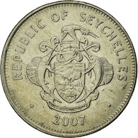 Monnaie, Seychelles, Rupee, 2007, British Royal Mint, TTB, Copper-nickel - Seychelles