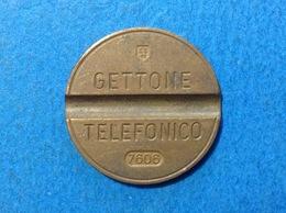 1976 ITALIA TOKEN GETTONE TELEFONICO SIP USATO 7606 - Italia