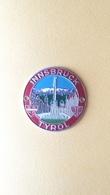 Placca Vintage In Alluminio - Innsbruck - Pubblicitari