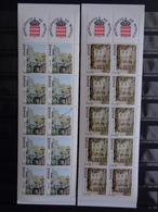 1990 - 2 CARNETS  COMPLET Y&T N° 5 & 6 ** - VUES DU VIEUX MONACO VILLE - Carnet