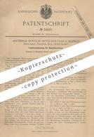 Original Patent - Archibald Douglas Bryce Douglas , Seafield , Ardrossan , Ayr , Schottland | Dampfmaschine | Steuerung - Historical Documents