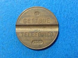 1976 ITALIA TOKEN GETTONE TELEFONICO SIP USATO 7606 - Altri