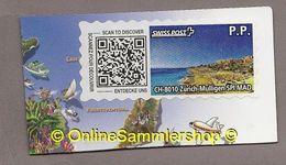 Schweiz - Swiss Post Touristenmarken  - SWISS POST - Zürich-Mullingen - Kanaren - Schweiz