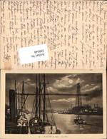 598048,Transbordeur Schwebefähre Kran Technik Nantes Port Hafen - Ansichtskarten
