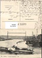 598046,Transbordeur Schwebefähre Kran Technik Dampfer - Ansichtskarten