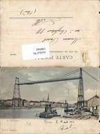 598044,Transbordeur Schwebefähre Kran Technik Rouen Hafen - Ansichtskarten