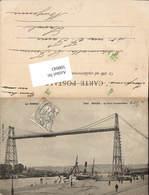 598043,Transbordeur Schwebefähre Kran Technik Rouen Hafen - Ansichtskarten