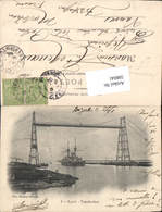 598041,Transbordeur Schwebefähre Kran Technik Bizerte Schiff - Ansichtskarten