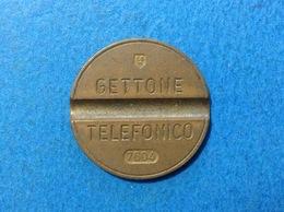 1976 ITALIA TOKEN GETTONE TELEFONICO SIP USATO 7604 - Italia