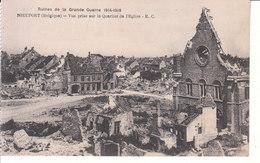 Nieuport (1914-1918) - Vue Prise Sur Le Quartier De L'Église - Nieuwpoort