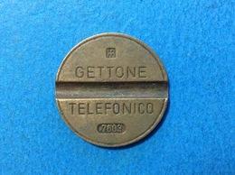 1976 ITALIA TOKEN GETTONE TELEFONICO SIP USATO 7603 - Italia