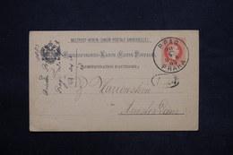 AUTRICHE - Entier Postal De Prag Pour Amsterdam En 1883 - L 25186 - Enteros Postales