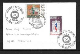 FRANCE Enveloppe Avec Timbre N° 3078/1777   1er Jour  St.Martin ( TOURS ) - Sonstige