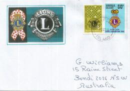 ILE NORFOLK (Océan Pacifique), Lions International Convention, Belle Lettre Adressée En Australie - Ile Norfolk