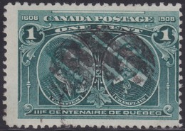 Canada  .  Scott     .      97i   .  Hairlines           .      O    .  Cancelled  .   /    .  Gebruikt - 1911-1935 Regering Van George V