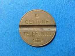 1976 ITALIA TOKEN GETTONE TELEFONICO SIP USATO 7601 - Italia