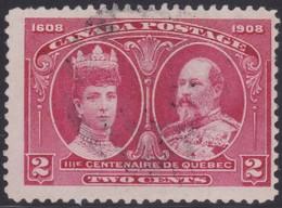 Canada  .  Scott     .      98i   .  Hairlines           .      O    .  Cancelled  .   /    .  Gebruikt - 1911-1935 Regering Van George V