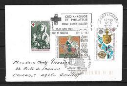 FRANCE Enveloppe Avec Timbre N° 3078/1779/2765   1er Jour  Mont St.Martin - Sonstige