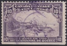 Canada  .  Scott     .      101  .  Imperf.         .      O    .  Cancelled  .   /    .  Gebruikt - 1911-1935 Regering Van George V