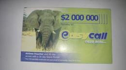 Zimbabwe-easy Call Eaza Neni-($2.000.000)-(1041511068826994)-used Card+1card Prepiad Free - Zimbabwe