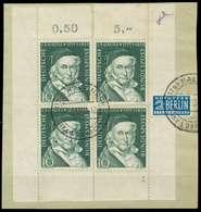 BRD 1955 Nr 204 Zentrisch Gestempelt Briefstück FORMNUMMER 1 X89C5C6 - [7] République Fédérale