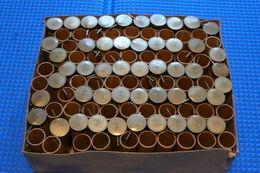 Lot De 100 Douilles De Cartouches à Broches Vides Neuves - Decorative Weapons