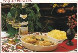 D1415 CARTE RECETTE - COQ AU VIN - RECETTE AU VERSO - Recettes (cuisine)