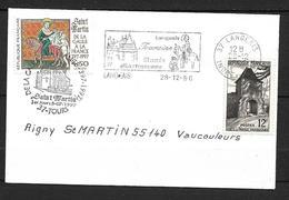 FRANCE Enveloppe Avec Timbre N°3078/921   1er Jour  Mont St.Martin  ( Langeais ) - Autres