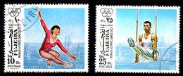 FUJEIRA. Timbres Oblitérés De 1972. Gymnastique Aux J.O. De Munich. - Gymnastics