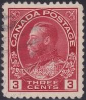 Canada  .  Scott     .      109         .      O    .  Cancelled  .   /    .  Gebruikt - 1911-1935 Regering Van George V