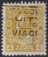 Canada  .  Scott     .      110         .      O    .  Cancelled  .   /    .  Gebruikt - 1911-1935 Regering Van George V