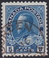 Canada  .  Scott     .      111         .      O    .  Cancelled  .   /    .  Gebruikt - 1911-1935 Regering Van George V