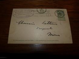 Entier Postal Pharmacie Oscar Nizet 1900 Jemeppe Sur Meuse - Zonder Classificatie
