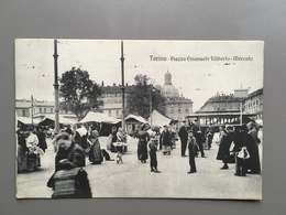 TORINO - Mercato - Tramway - 1913 - Andere