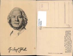 596894,Künstler Ak Chr. W. Von Gluck Komponist Musik - Schriftsteller