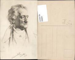 596891,Künstler Ak Rumpf Goethe Dichter Kunst Wissenschaft - Künstler