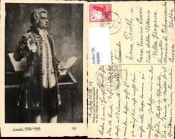 596886,Künstler Ak Hans Stalzer Mozart Komponist Musik - Schriftsteller
