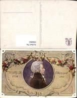 596882,Künstler Ak Wolfgang A. Mozart Portrait Komponist Musik - Schriftsteller