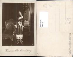 596870,Foto Ak Kronprinz Otto V. Habsburg Kind Pelz Pelzmode Adel Monarchie - Königshäuser