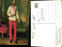 596869,Künstler Ak Franz Xaver Winterhalter Kaiser Franz Joseph Josef Adel Monarchie - Königshäuser