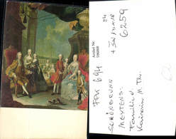 596868,Künstler Ak Meytens Familie D. Kaiserin Maria Theresia Adel Monarchie - Königshäuser