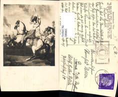 596865,Künstler Ak Joh. Peter Krasst Erzherzog Karl Schlacht B. Aspern Adel Monarchie - Königshäuser