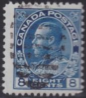 Canada  .  Scott     .      115         .      O    .  Cancelled  .   /    .  Gebruikt - 1911-1935 Regering Van George V